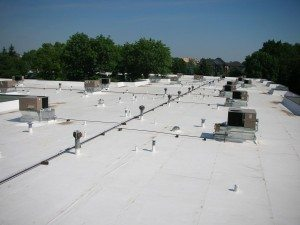 Fort Worth commercial roofing project by CLC Roofing Inc.