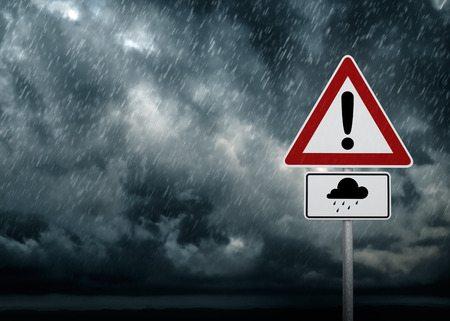 caution heavy rain potential storm damage to buildings