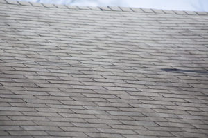 Roof Shingles Damaged By Strong Winds