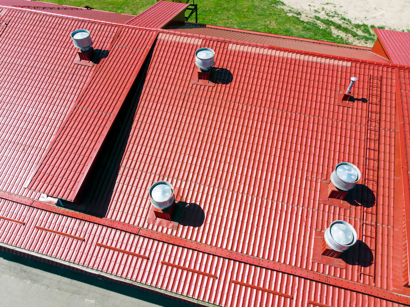 metal roofing - commercial Fort Worth roofing companies